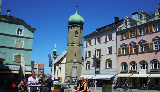Leutbühel, centro de Bregenz