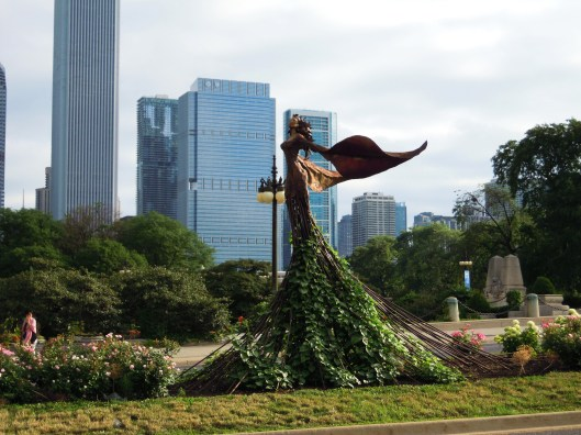 Impactantes esculturas en Grant Park