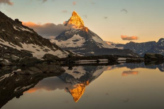 Monte Cervino. Foto vía Pixabay
